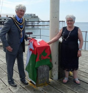Aberystwyth's promenade jetty re-opens following refurbishment
